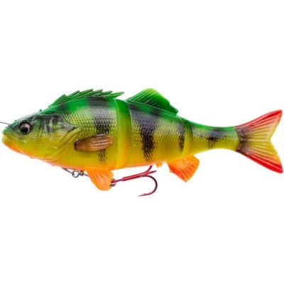 Okoun Savage Gear 4D Line Thru Perch 17 cm Firetiger
