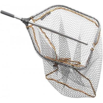 Podběrák Savage Gear Pro Tele Folding Rubber Large Mesh Landing Net XL