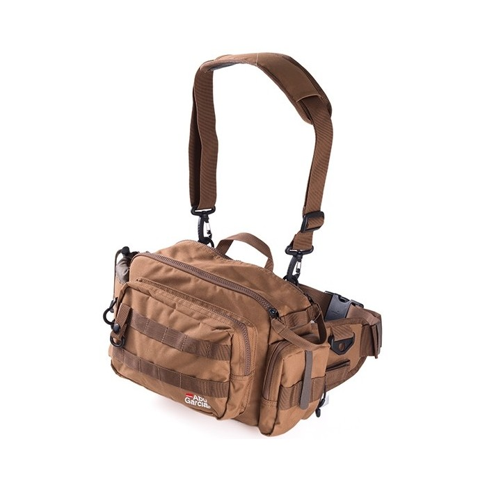 Ledvinka Abu Garcia Hip Bag Large 2 Coyote Brown