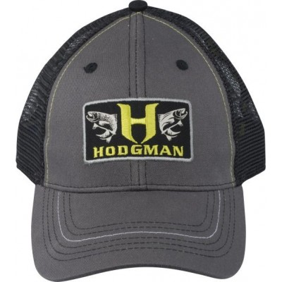 Cap Hodgman Trucker Patch Hat Charcoal