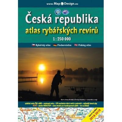 Atlas rybářských revírů Česká republika 2018