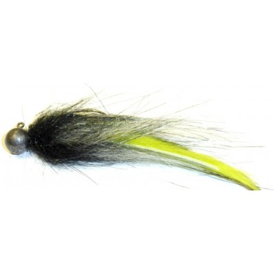 Zonker malý 3,5g černý s fluo zelenou
