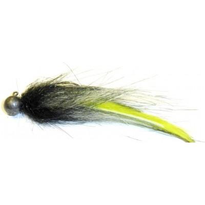 Zonker malý 5g černý s fluo zelenou