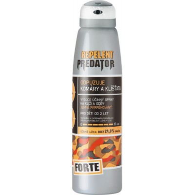 Repelent PREDATOR Forte 150 ml