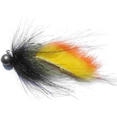 Zonker malý 5g černý s žluto-oranžovou