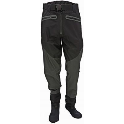 Brodící kalhoty Effzett Breathable Waist Wader with Stocking Foot