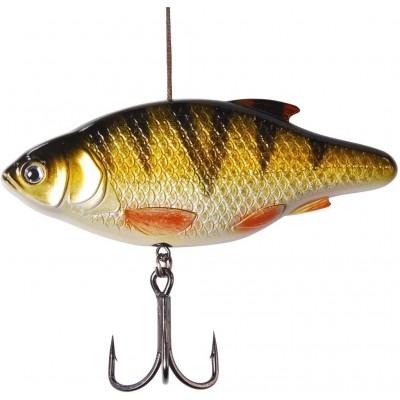 Wobler DAM Madcat Inline Rattler 13cm 90g Perch