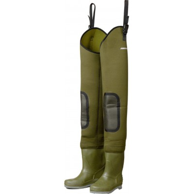 Wading Shoes DAM Fighter Pro+ Neoprene Hip Waders Felt Sole