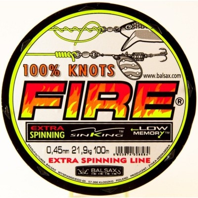 Fishing Line Balsax Fire 100 m