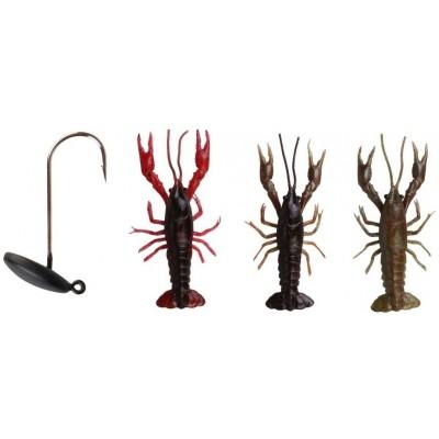 Sada Savage Gear 3D Crayfish Kit 8 cm 3+1