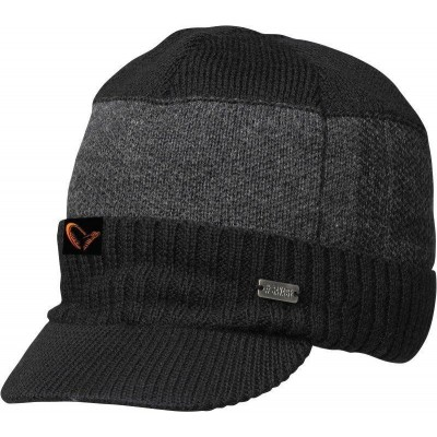 Čepice Savage Gear Knitted Beanie W Brim