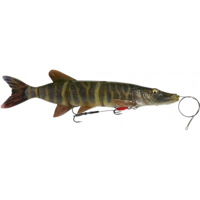Savage Gear 4D Line Thru Pike 25 cm Striped Pike