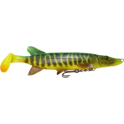 Štika Savage Gear 4D Pike Shad 20 cm Fire Tiger