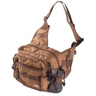 Abu Garcia One Shoulder Bag 2 Coyote Brown