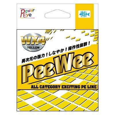 Šňůra Power Eye PeeWee WX4 150 m Yellow