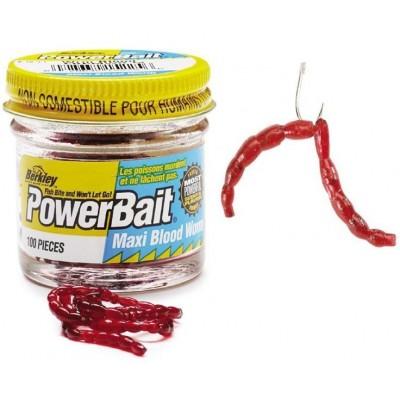 Patentky Berkley Blood Worm Mini 150 ks