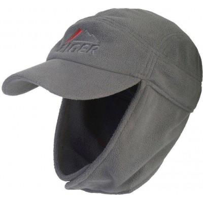Čepice Eiger Fleece Ear Cap Grey