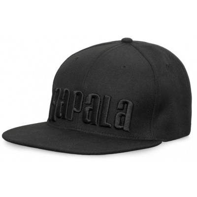 Kšiltovka Rapala Black Flat Brim Cap