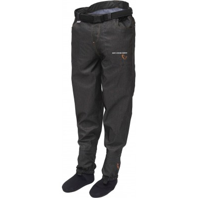 Wading Pants Savage Gear Denim Waist Wader Stocking Foot