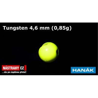 Tungsten Beads 4,6mm 0,85g Fluo