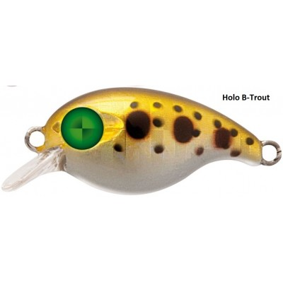 Wobler Rapture Chibi Crank 28 mm Holo B-Trout