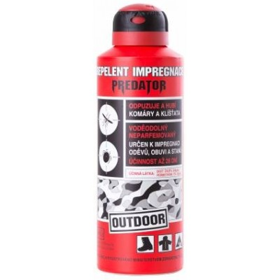 Repelent impregnace PREDATOR Outdoor 200 ml