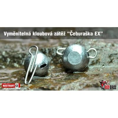 Vyměnitelná kloubová zátěž Čeburaška EX 25g