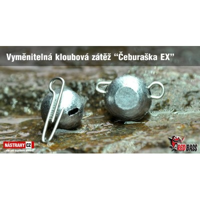 Vyměnitelná kloubová zátěž Čeburaška EX 30g