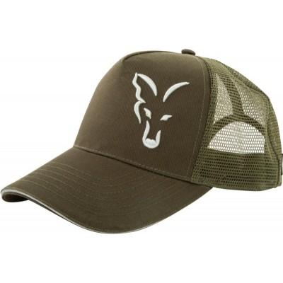 Kšiltovka Fox Trucker Cap Green Silver