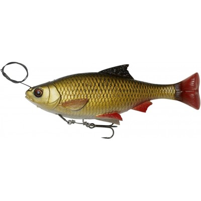 Savage Gear 4D Line Thru Pulse Tail Roach 18 cm Rudd