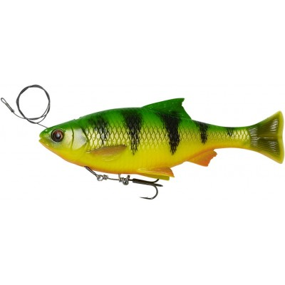 Savage Gear 4D Line Thru Pulse Tail Roach 18 cm Firetiger