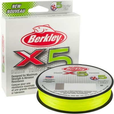 Šňůra Berkley X5 150 m Flame Green