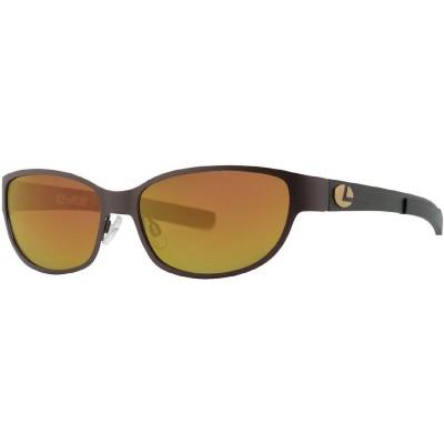 Polarizing Glasses  Lenz Optics Titanium Cascapedia Brown/Cooper Mirror Lens