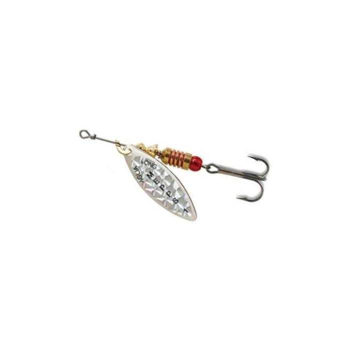 Spinner Mepps Aglia Long Pearl Silver 2