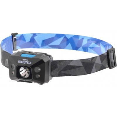 Head lamp Spro Freestyle USB Sense Optics Black