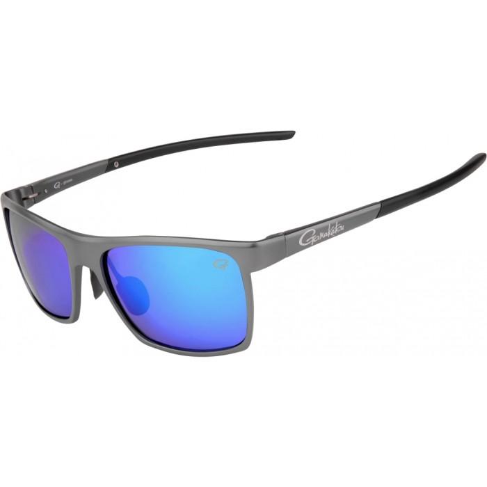 Polarizing Glasses Gamakatsu G-glasses Alu Grey/Ice Blue Mirror