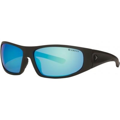 Polarizing Glasses Greys G1 Sunglasses Matt Carbon/Blue Mirror