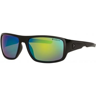 Polarizing Glasses Greys G2 Sunglasses Gloss Black/Green Mirror