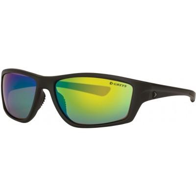 Polarizing Glasses Greys G2 Sunglasses Matt Carbon/Green Mirror