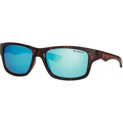 Polarizing Glasses Greys G4 Sunglasses Gloss Tortoise/BL Mirrror