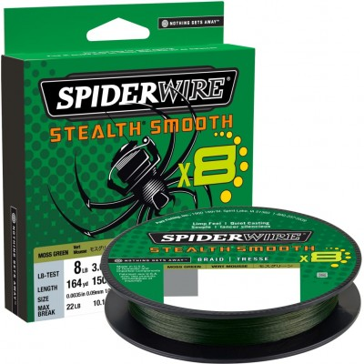 Braid Spiderwire Stealth Smooth8 150 m Green