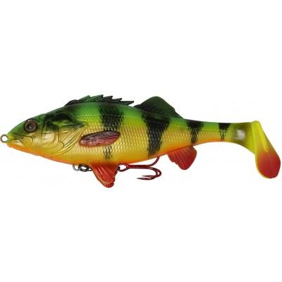 Okoun Savage Gear 4D Perch Shad 12,5 cm Firetiger