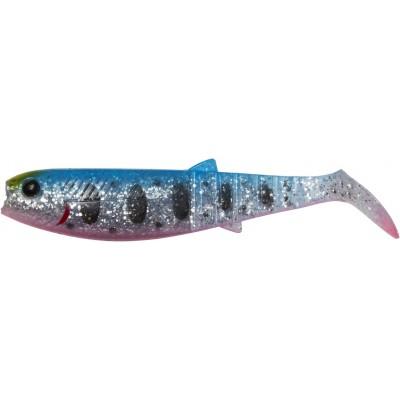 Ripper Savage Gear Cannibal Shad 6,8 cm Blue Pink Smolt UV