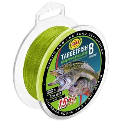 Braid WFT Targetfish 8 Predator Chartreuse 150 m