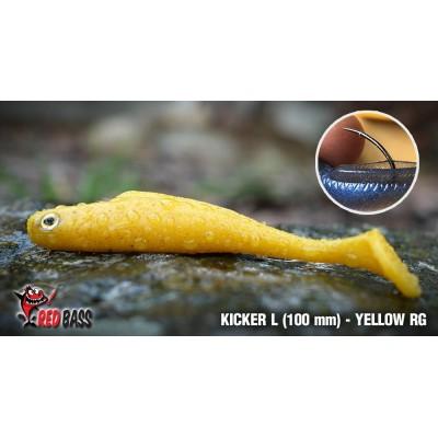 Ripper Redbass Kicker L 100 mm Yellow RG