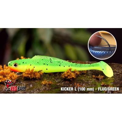 Ripper Redbass Kicker L 100 mm Fluo Green RH