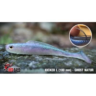 Ripper Redbass Kicker L 100 mm Ghost Natur