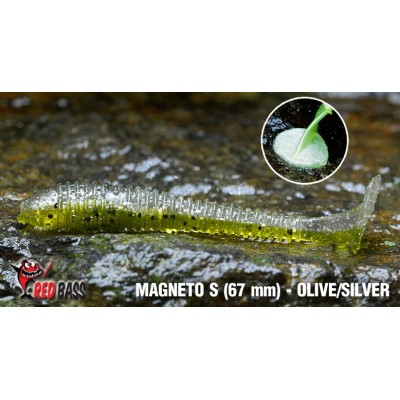 Ripper Redbass Magneto S 67 mm Olive/Silver