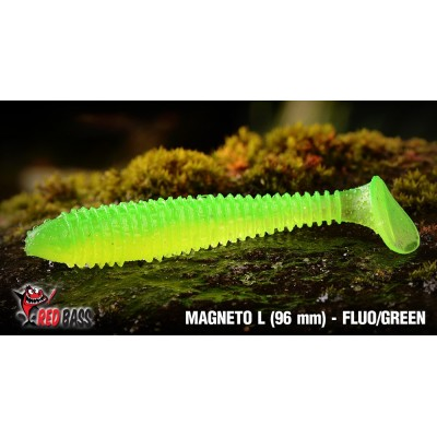 Ripper Redbass Magneto L 96 mm Fluo/Green