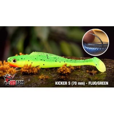 Ripper Redbass Kicker S 70 mm Fluo/Green RH